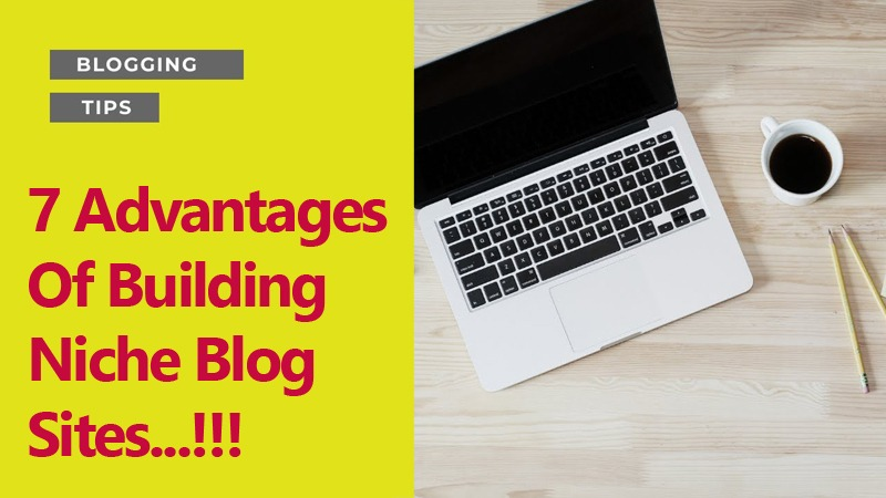 7 Advantages Of Building Niche Blog Sites