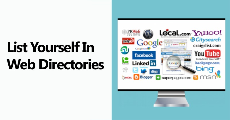List Yourself in Web Directories
