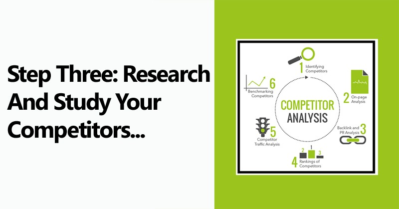 Step Three Research Study Your Competitors