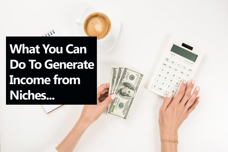 What You Can Do To Generate Income from Niches