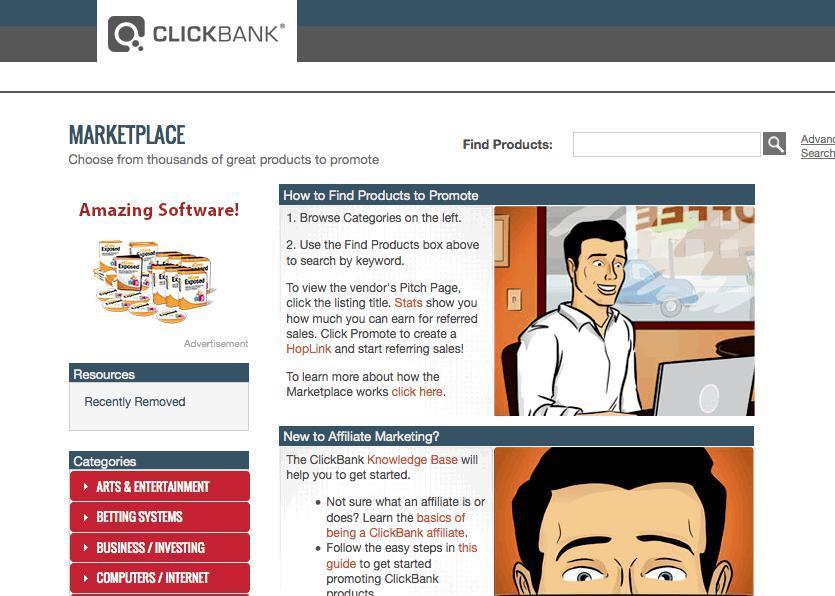 Affiliate Marketing Clickbank