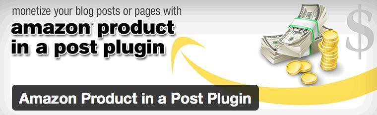 Amazon Product In A Post WordPress Plugin