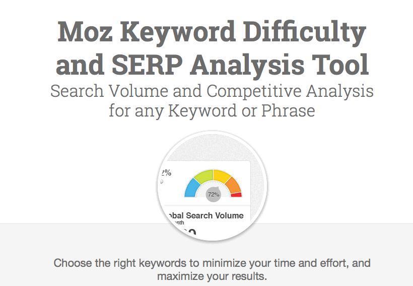 Keyword Explorer and SERP Analysis Tool