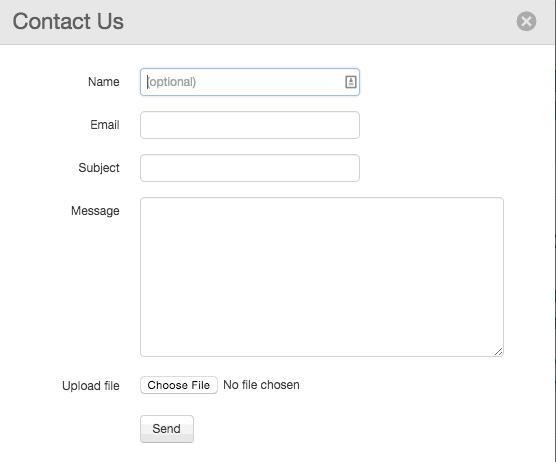 wordpress contact page