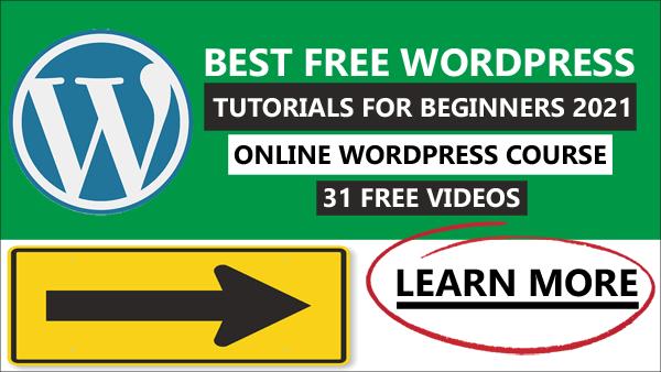 Best WordPress Tutorials For Beginners