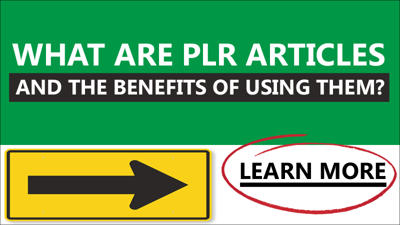 what are plr articles