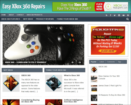 xBox 360 Repair PLR Blog