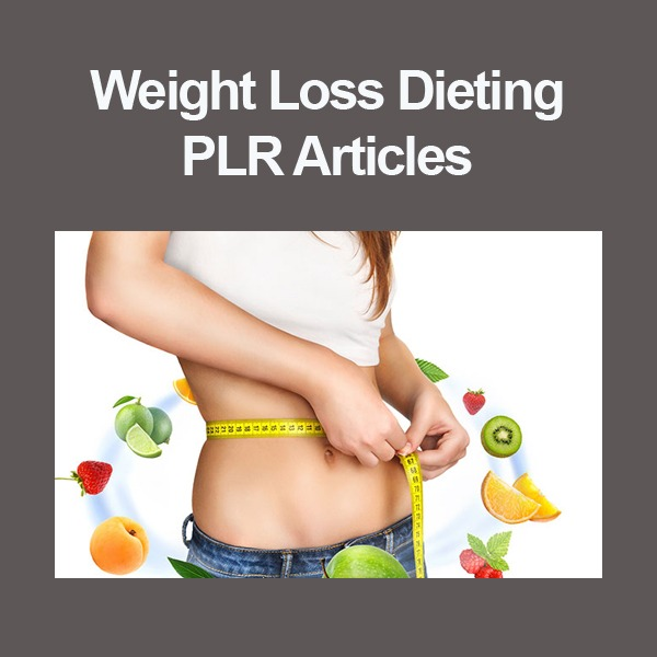 weight loss dieting plr articles