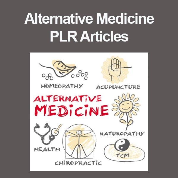 alternative medicine plr articles