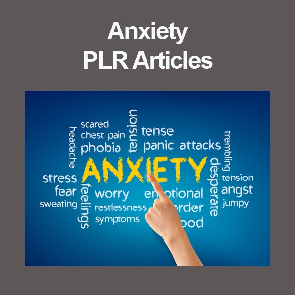 Anxiety PLR Niche Website Articles