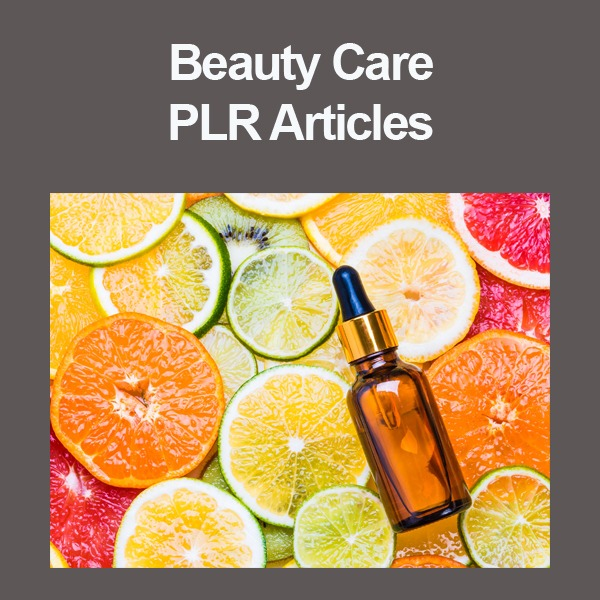 beauty care plr articles