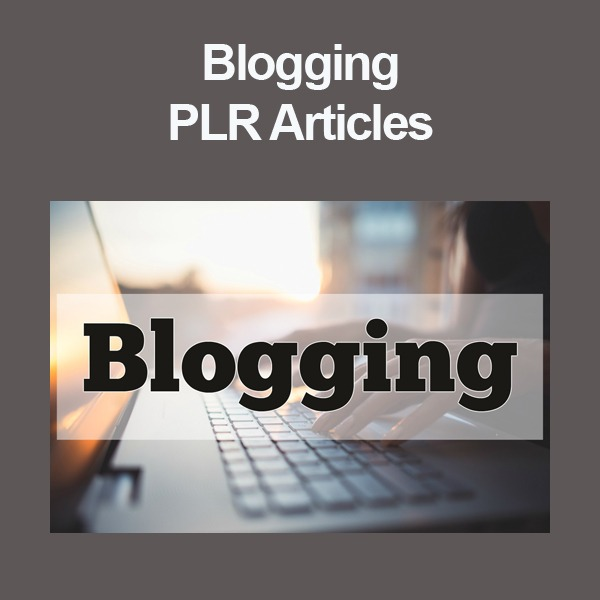 blogging plr articles