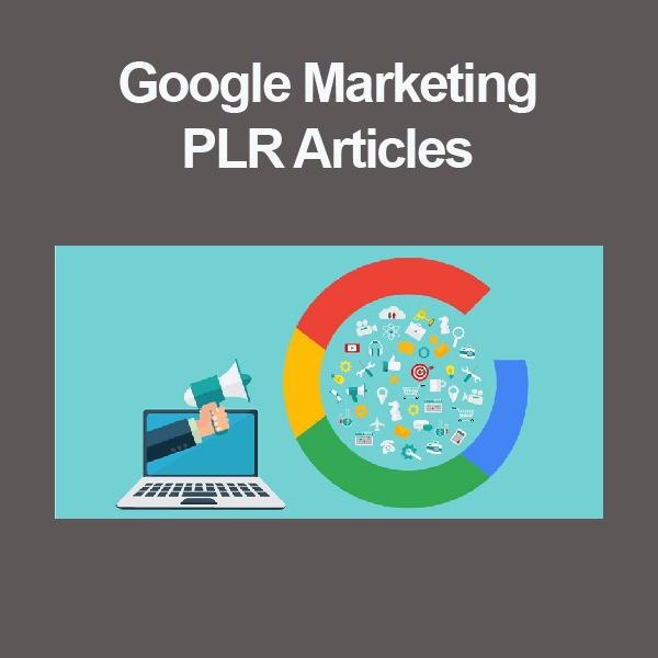 google marketing plr articles
