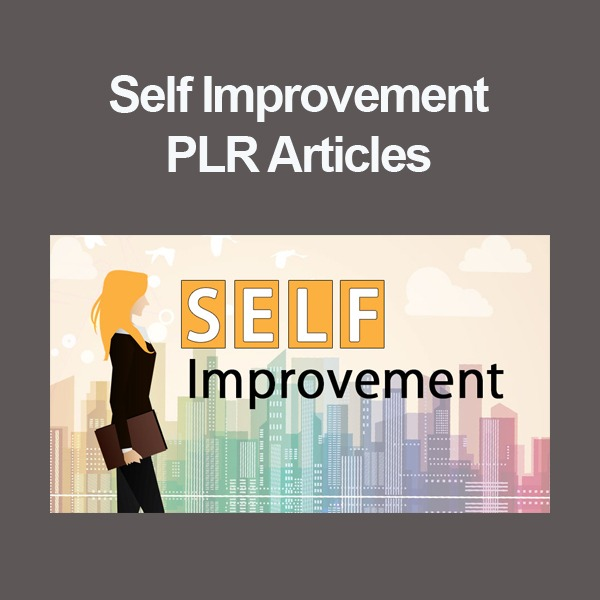 self improvement plr articles