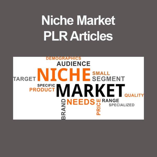 niche market plr articles