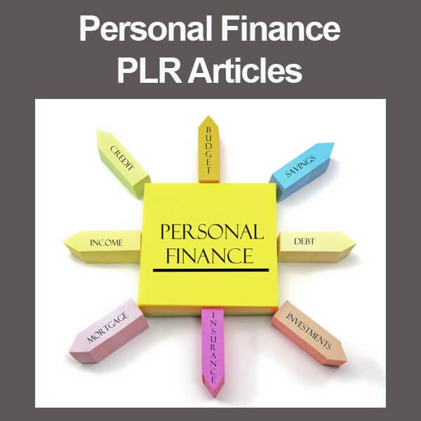 personal finance plr articles
